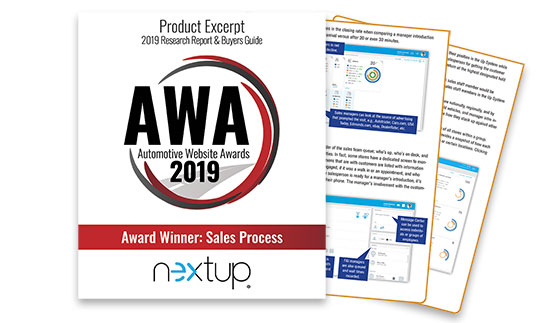 Nextup Wins 5th AWA Award