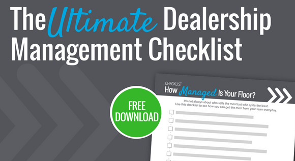 Dealership Management Checklist