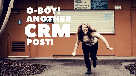 Let's Talk CRMs!